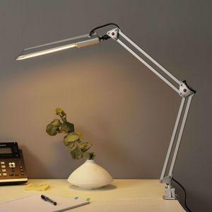 ALCO Stolní pracovní lampa PRACY, stříbrná