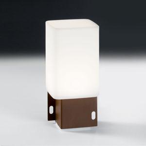 ALMA LIGHT BARCELONA LED venkovní světlo Cuadrat - 1x USB, corten