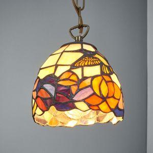 Artistar Tiffany styl závěsné světlo COLIBRI