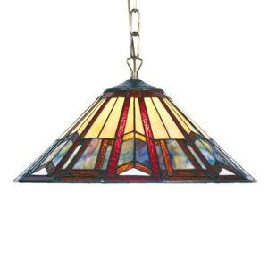Artistar Závěsné světlo Lillie v Tiffany stylu 1 x E27