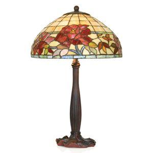 Artistar Ručně vyrobená stolní lampa Esmee v Tiffany stylu