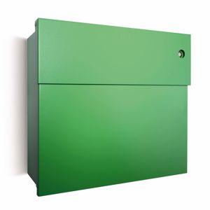 Absolut/ Radius Poštovní schránka Letterman IV se zvonkem zelená