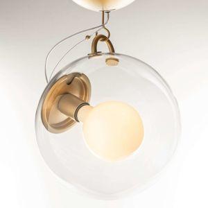 Artemide Artemide Miconos skleněné stropní světlo mosaz