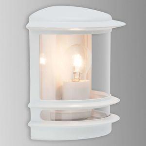 Brilliant Venkovní nástěnné svítidlo Hollywood bílé