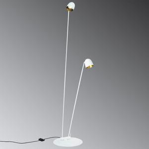 B.lux Flexibilní LED stojací lampa Speers F bílá