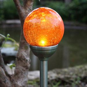 Best Season Roma - solární zapichovací světlo s jantar. LED