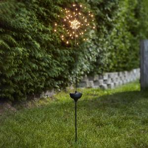 Best Season LED solární lampa Firework se zapichovacím hrotem
