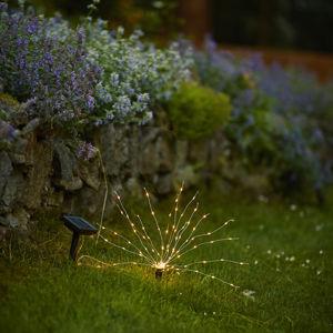 Best Season Solární LED zapichovací světlo Firework výška 23cm