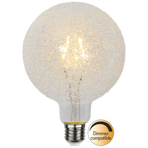 Best Season LED žárovka globe E27 1W G125 Ice Drop 2 600 K