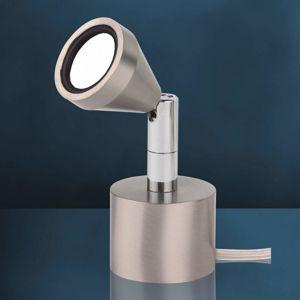 Busch Otočná stolní lampa LED MINI, univerzální bílá