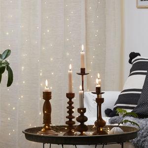 Best Season Dew Drops LED světelný závěs, výška 100 cm