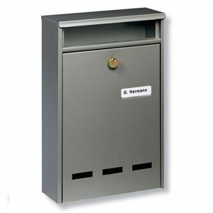 Burgwächter Standardní poštovní schránka WISMAR B5, hnědá