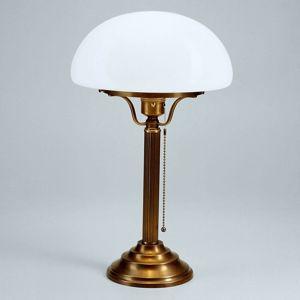 Berliner Messinglamp Klasická stolní lampa HARI z mosazi