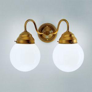 Berliner Messinglamp Příjemné nástěnné světlo Larry II