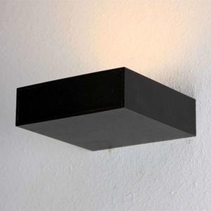 BOPP Bopp Cubus - černé LED osvětlení stěny