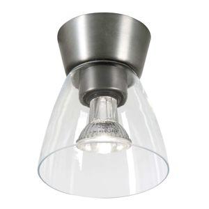 BELID Šedý baldachýn - stropní světlo Bizzo čiré sklo