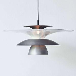 BELID LED závěsné svítidlo Picasso 1zdr, Ø 38 cm, šedé