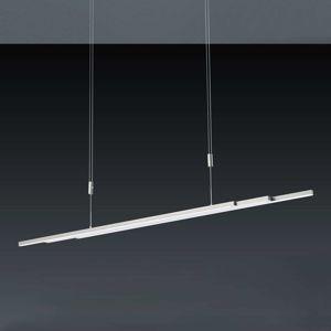 BANKAMP BANKAMP L-lightLINE závěsné LED světlo, matný nikl