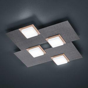 BANKAMP BANKAMP Quadro stropní LED svítidlo, 32 W antracit