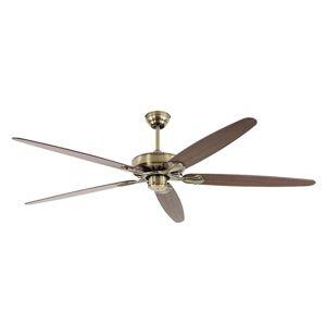 CASAFAN Stropní ventilátor Classic Royal 180, mosaz/dub