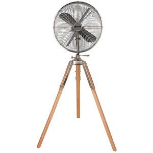 CASAFAN Stojanový ventilátor Retro Airstyle, dřevo světlé