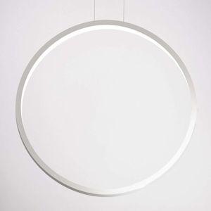 Cini&Nils Cini&Nils Assolo - bílé závěsné světlo LED, 70 cm