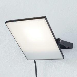 Duracell Černý venkovní LED reflektor Regular 50 W, 4000 K