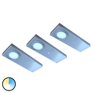 Evotec Sada 3 ks LED podlinkové světlo Tain, Color Switch