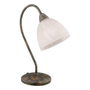 EGLO Stolní lampa Dionis, rezavě hnědá