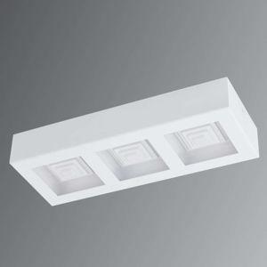 EGLO Ferreros - třížárovkové LED stropní svítidlo bílé