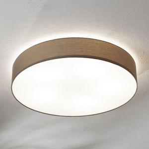 EGLO Taupé textilní stropní světlo Pasteri 76 cm