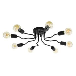 EGLO Orazio stropní světlo v černé, osm zdrojů