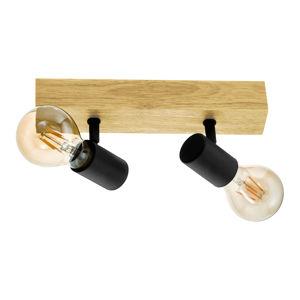 EGLO Townshend 3 stropní světlo ze dřeva, dva zdroje