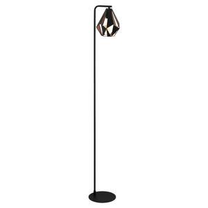 EGLO Carlton 4 stojací lampa černá/měď