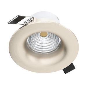 EGLO Saliceto LED světlo kulaté pevné 4000K nikl