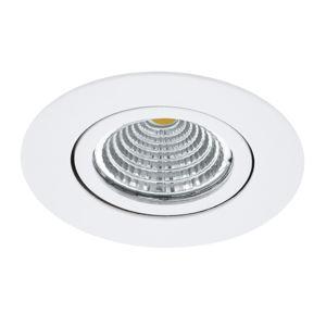 EGLO Saliceto LED světlo kulaté otočné 2 700 K bílá