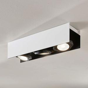 Arcchio Arcchio Olinka LED stropní světlo, černobílé 3 ž.