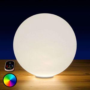 Epstein RGB LED koule Snowball venkovní s baterií, 30 cm