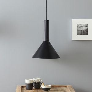 Lucande Lucande Caris závěsné světlo Ø30cm černá/zlatá