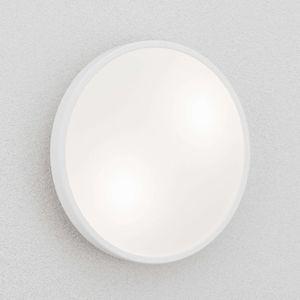 Fabas Luce Stropní a nástěnné světlo Plaza, 31 cm, bílá