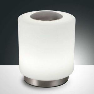Fabas Luce Stmívatelná stolní lampa Simi s dotykovou funkcí