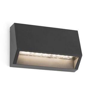 FARO BARCELONA LED venkovní nástěnné svítidlo Must - 9,6 cm