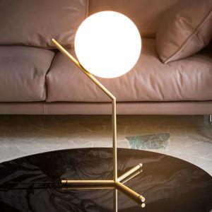 FLOS FLOS IC T1 High - Stolní lampa, kartáčovaná mosaz