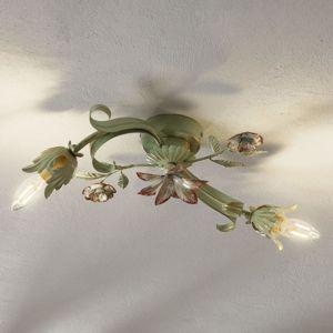 Ferro Luce Florentinské stropní světlo Tulipán, 2zdrojové