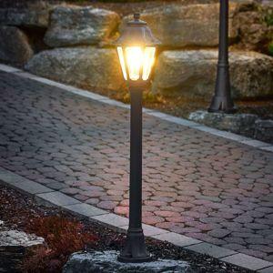 Fumagalli Černé LED svítidlo pro cesty Mizar Anna, odolné