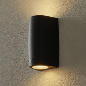 Fumagalli Nástěnné světlo Marta 9,2 cm 2 zdroje černá/ledová