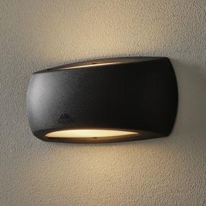 Fumagalli Nástěnné světlo Francy Up/Down 6W, 2 700 K, černá