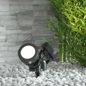 Fumagalli Zapichovací reflektor Tommy kulatý černý 2 zdroje