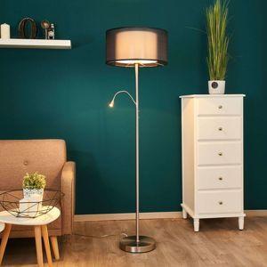 Freelight Stojací lampa Damento s lampičkou na čtení