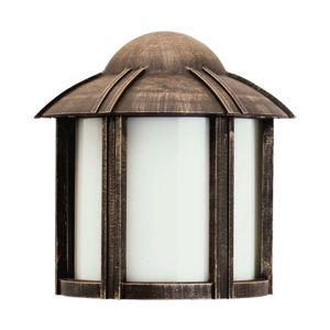 Albert Leuchten Venkovní svítidlo Affra, venkovský styl, hnědá